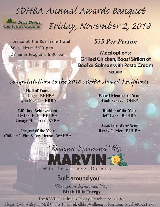 Registration is now OPEN for the 2018 Annual Banquet in...