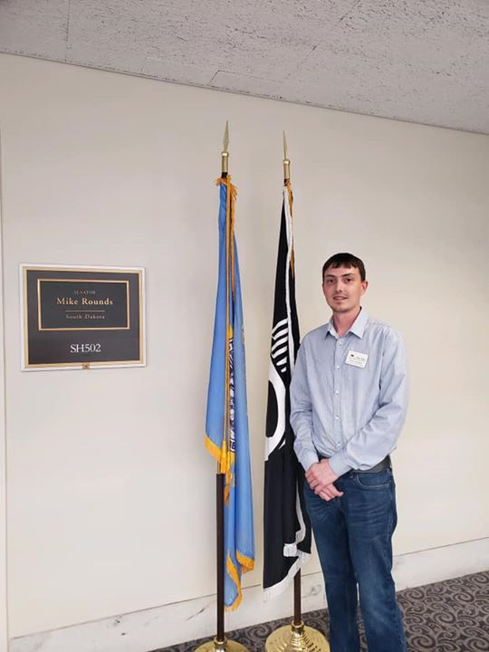 SDHBA and AHBA met with the staff of Sen. Rounds and Th...
