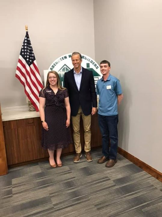 Thank you Senator Thune for meeting with the Aberdeen H...